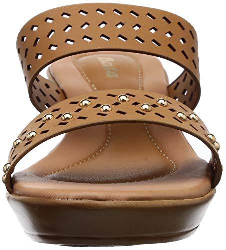 BATA Women's Laser Stud Mule Fashion Slippers