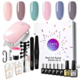Modelones Gel Nail Starter Kit, with 6 Color Gel in Tiny Bottles 7ml - Best Reviews Guide