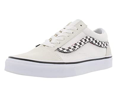 d2d285a04e38 Vans VN-0A38G1UPC  Mens Sidestripe V White True White Old Skool Checker  Sneakers