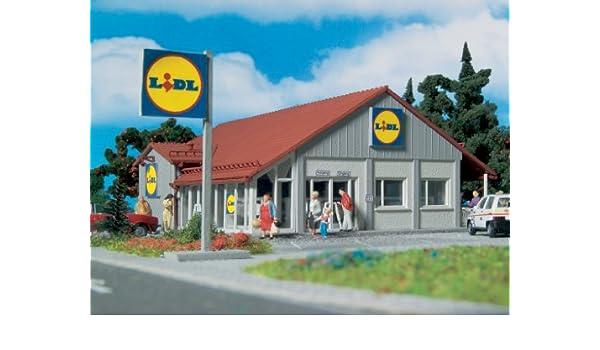 Vollmer 3662 H0 - Supermercado Lidl [Importado de Alemania]: Amazon.es: Juguetes y juegos