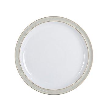 Denby Linen Dinner Plate  sc 1 st  Amazon.com & Amazon.com | Denby Linen Dinner Plate: Dinner Plates
