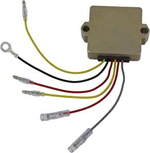 Rareelectrical NEW VOLTAGE REGULATOR COMPATIBLE WITH MERCURY MARINE 40 50 55 HP 1989-2006 60 75 100 91-06