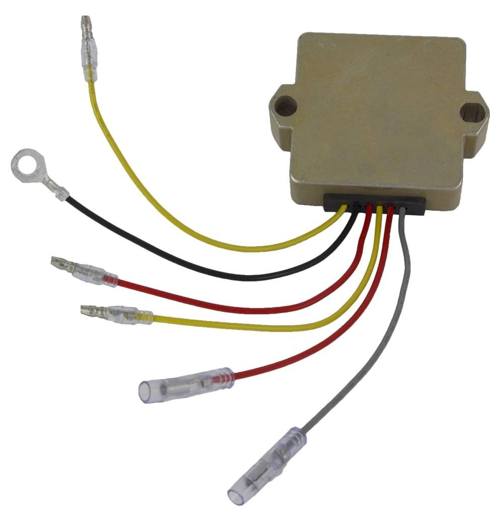 New Voltage Regulator Mercury Marine 40 50 55 Hp 1989 Johnson Wiring Harness Diagram Free Picture 2006 60 75 90 100 91 06 Automotive