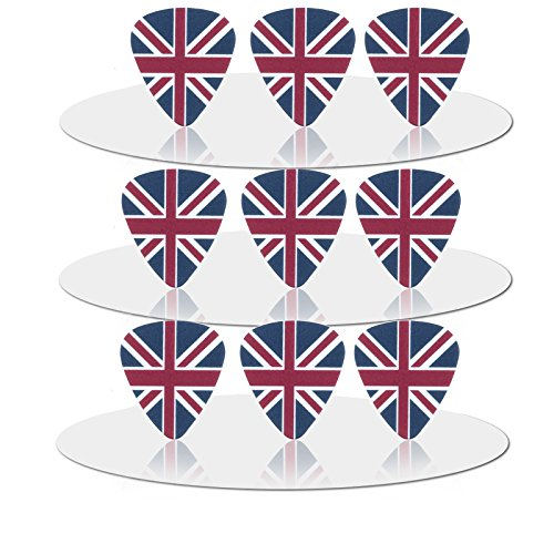 British Guitar (10pcs The British Flag 0.71 mm Guitar Picks)