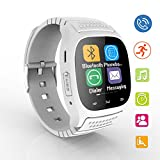 Bluetooth Smart Watch Women's Smartwatch LED Light Display Wrist Wrap Watch with Dial Call Answer Music Player Anti-lost Passometer Touch Screen for Men Android Samsung HTC LG Sony Xiaomi Smartphones