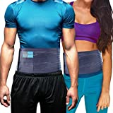 Everyday Medical Umbilical Hernia Belt - for Men and Women – Abdominal Hernia Binder for Belly Button Navel Hernia Support, Helps Relieve Pain - for Incisional, Epigastric, Ventral, Inguinal Hernia - L/XL