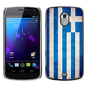LJF phone case Shell-Star ( National Flag Series-Greece ) Snap On Hard Protective Case For SAMSUNG Google NEXUS / I9250