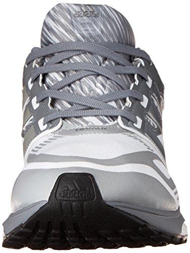 Adidas Prestaties Heren Reactie Boost Techfit M Hardloopschoen Wit / Tech Grijs / Tech Grijs