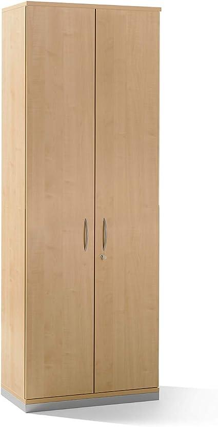 Armario – 5 estantes, 2 puertas, decoración haya – Estantería Armarios Oficina Muebles Hanna Oficina Muebles programa Isabella