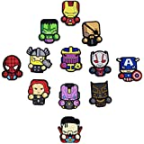 Exclusive Avengers Refrigerator Magnets-Marvel Heroes - Set of 12 Marvel Characters-Infinity war