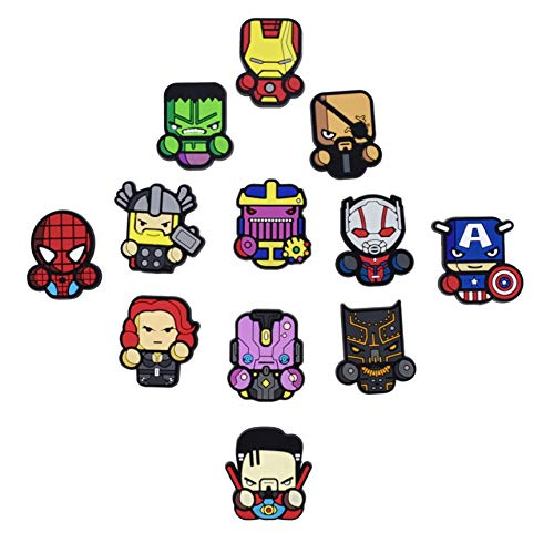 Exclusive Avengers Refrigerator Magnets-Marvel Heroes - Set of 12 Marvel Characters-Infinity - Refrigerator Womens Fridge Magnets