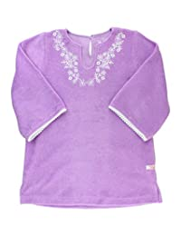 RuffleButts Infant/Toddler Girls Lilac Terry Tunic Cover-Up