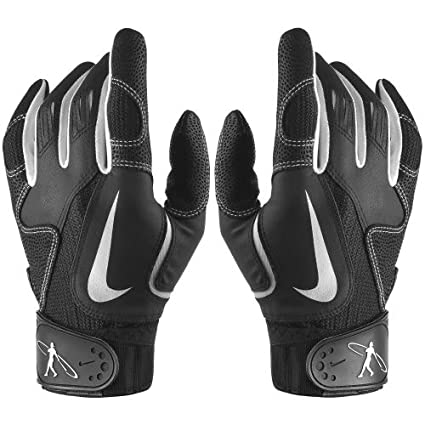 be7ec2e7f9992 Image Unavailable. Image not available for. Color  Nike Swingman Adult Batting  Gloves