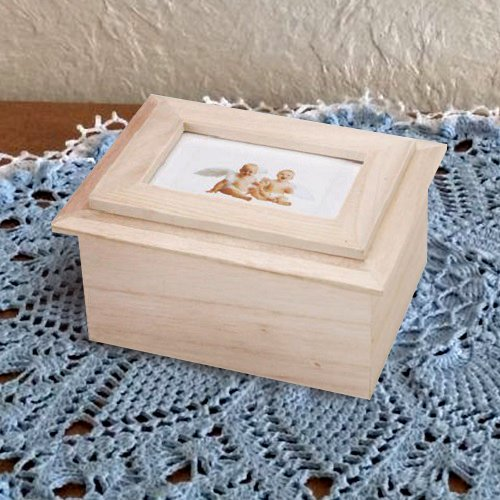 Center Gifts Personalized Beautiful & Decorative Wooden Box Style Frame by Center Gifts