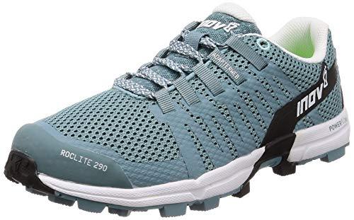 Inov8 Roclite 290 Trail Running Shoes Black/grey