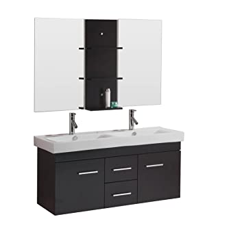 Amazing Kitchen Bath And Beyond Tampa Huge Cleaning Bathroom With Bleach And Water Square Bathroom Faucets Lowes Bathroom Vanities Toronto Canada Young Bathroom Expo Nj BrownTiled Bathroom Shower Photos Virtu USA UM 3067 C ES Opal 48 Inch Wall Mounted Double Sink ..
