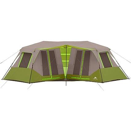 Amazon.com  Ozark Trail 23u0027 x 11u00276  Instant Double Villa Cabin Tent Sleeps 8 GREEN  Sports u0026 Outdoors  sc 1 st  Amazon.com & Amazon.com : Ozark Trail 23u0027 x 11u00276