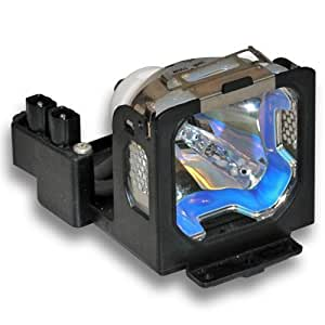 CTLAMP LV-LP12/7566A001AA Replacement Projector Lamp General Lamp/Bulb with Housing for Canon LV-S1 / LV-X1