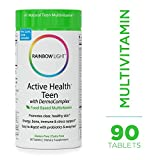 Best Vitamins For Teen Girls - Rainbow Light - Active Health™ Teen Multivitamin Review