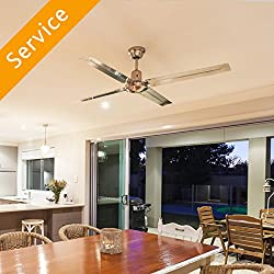 Ceiling Fan Installation - Replacement - Under 10 ft.