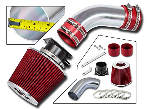 Audi A6 Intake - Rtunes Racing Short Ram Air Intake Kit + Filter Combo RED For 96-00 Audi A4 / A6 2.8L V6