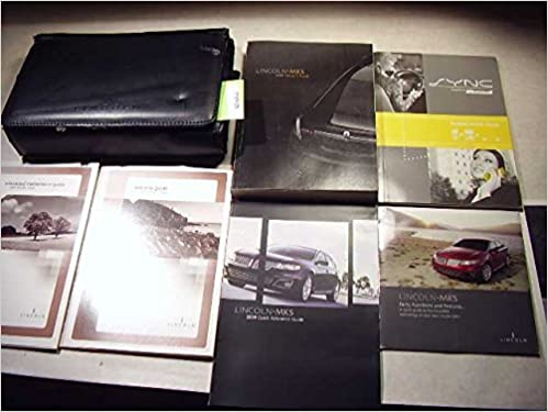 Book 2009 Lincoln MKS Owner Manual