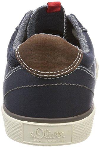 Basses Navy Sneakers Oliver 13602 Homme s Bleu gRaFZt