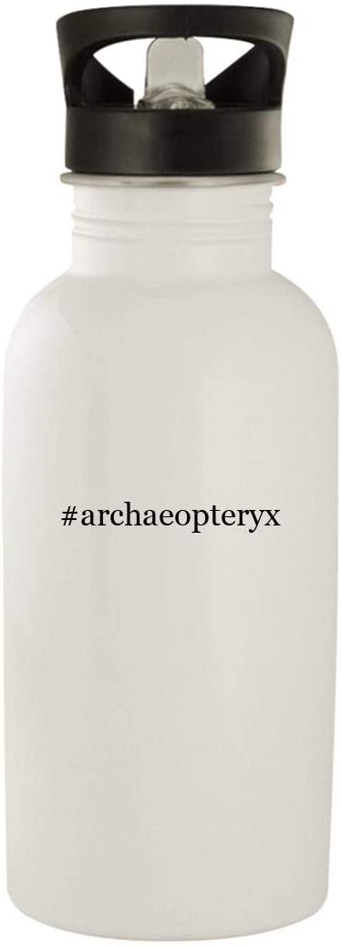 #archaeopteryx - Stainless Steel Hashtag 20oz Water Bottle, White 51yWkKliVKL