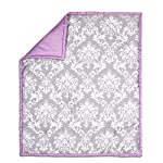 Grey-Damask-and-Purple-4-Piece-Baby-Crib-Bedding-Set-by-The-Peanut-Shell