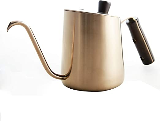Nobrannd Cafetera Delicada Acero Inoxidable Cafetera portátil ...