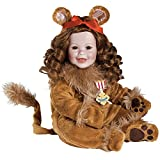 "Adora Toddler Wizard of Oz Cowardly Lion 20"" Boy Weighted Doll Gift Set For Children 6+ Huggable Vinyl Cuddly Snuggle Soft Body Toy"