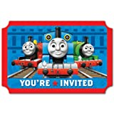 Thomas And Friends Birthday Party Invitations 16 Count Save The Date Stickers