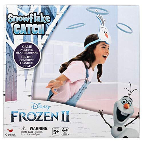 Disney Frozen 2 Up & Active Olaf Snowflake Catch Game for Kids & Families
