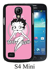 Samsung Galaxy S4 Mini Screen Case ,Betty Boop Black Samsung Galaxy S4 Mini Cover Fashion And Unique Designed Phone Case