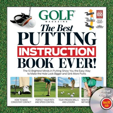Amazon Golf The Best Putting Instruction Book Ever With Dvd