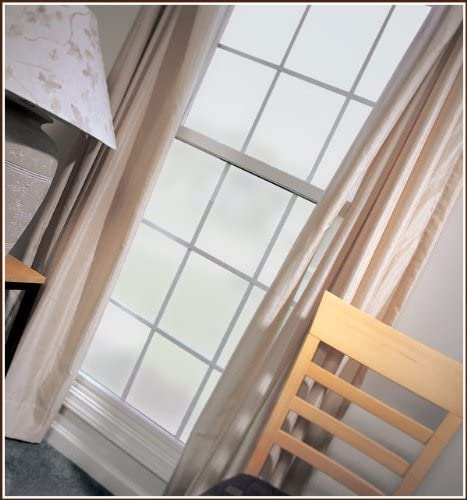 Lite Frosted Glass White Privacy Decorative Window Film 32 x 96