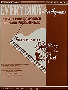 Book Everybody Likes the Piano: Preparatory Book