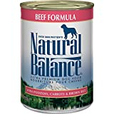 Cheap Natural Balance Ultra Premium Canned Dog Food, Beef Formula, 13-Ounce (Pack of 12)