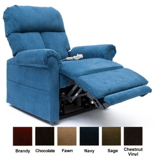 Infinite Position Lift Chair Recliner LC-100 (navy) with Inside Delivery & Assembly