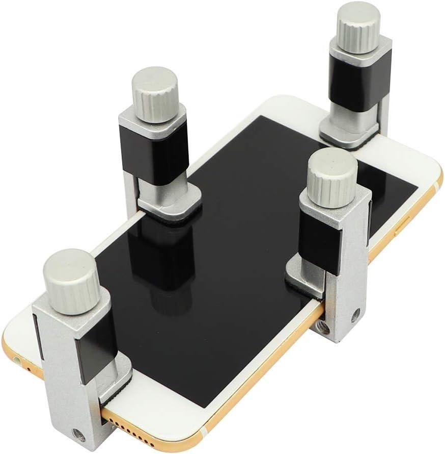 4 قطع شاشة الهاتف أداة إصلاح شاشة قابل للتعديل مشبك التثبيت شاشة التثبيت أدوات متوافقة مع آيفون ، آيباد ، الكمبيوتر المحمول ، الأجهزة اللوحية ، إصلاح شاشة LCD