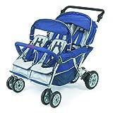 Kyпить Angeles Infant Toddler SureStop Folding Commercial Bye-Bye Stroller (4-Passenger) на Amazon.com