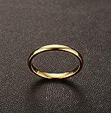 Three Keys Jewelry 2mm Tungsten Carbide Wedding