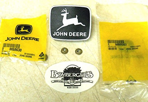 John Deere Leaping Deere Medalion 130 160 165 170 175 180 185 M89587 M68630