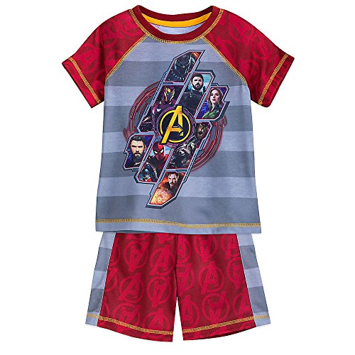 Marvel Avengers: Infinity War Shorts Sleep Set for Boys Size 5/6 ()