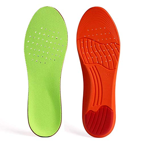 - GAOAG Orthotic Plantar Fasciitis Shoe Insole Sport Breathable Cushion Height Increase Insole Comfort Performance Insole US Men's(10-13) Women's(11.5-14.5)
