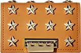 Image of ZAC Zac Posen Women's Earthette Card Case with Chain - Star Stud Tobac One Size