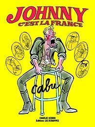 Johnny c'est la France par  Cabu
