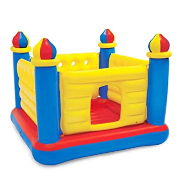 Amazon.com: Juego al aire libre para niños, castillo de ...