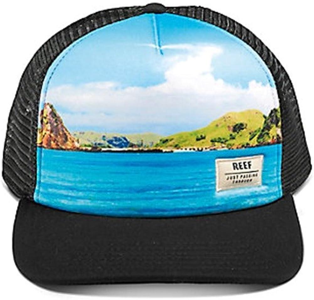 reef Gorra Route Azul/Negro Talla: OSFA (Talla única para Todos ...