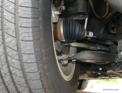 Packung mit 8 St/ück schwarz Autobahn88 Universelle Silikon Konstante Velocity CV Joint Boot Ersatz-Kit mit Rei/ßverschluss-Krawatten